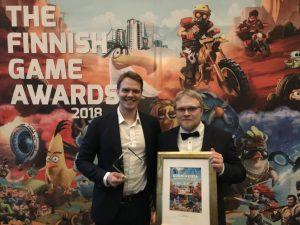 Psyon Games ja GSK yhteistyössä rokotetietoisuuden puolesat  Tiedote: Suomalainen Antidote-peli rokotetietoisuuden kasvoksi kansainväliselle lääkeyritykselle Finnish Game Awards 300x225