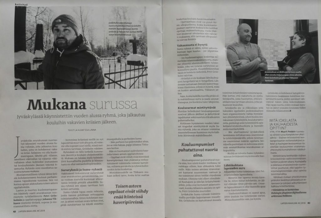 Lapsen Maailma -lehti / Finnish language blog and content writer  Finnish language content and blog writer available mukanasurussa lm 1 1024x696